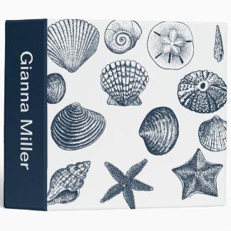 Nautical shells binder