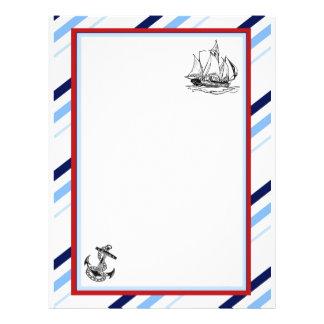 Nautical Ship & Anchor Flyer