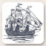 Nautical Ship Cork Coaster