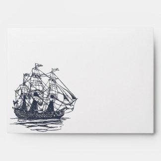 Nautical Ship Envelope