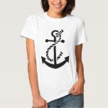 Nautical ship navy marine anchor t shirt