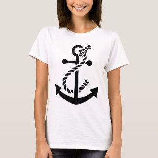 Nautical ship navy marine anchor T-Shirt