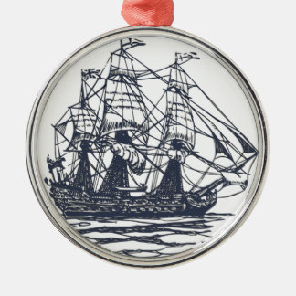 Nautical Ship Ornament