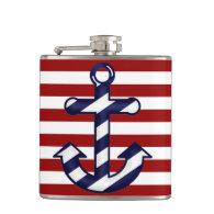 Nautical Ship's Anchor Flask