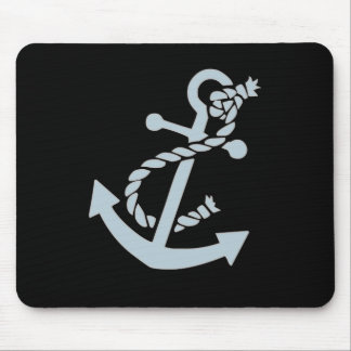 Nautical Ship's Anchor Ocean Mouse Pad