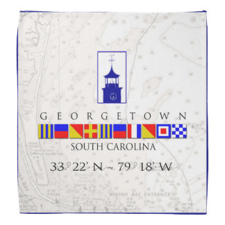 Nautical Signal Flags Georgetown SC Bandana