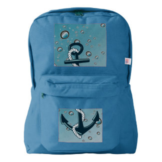 Nautical Sinking Anchor Backpack