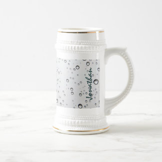 Nautical Sinking Anchor Personalized Beer Stein
