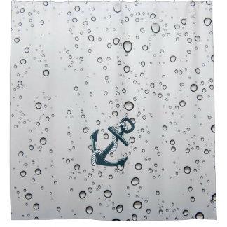 Nautical Sinking Anchor Shower Curtain