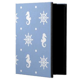 Nautical sky blue pattern powis iPad air 2 case