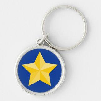 Nautical Star 2 Keychain