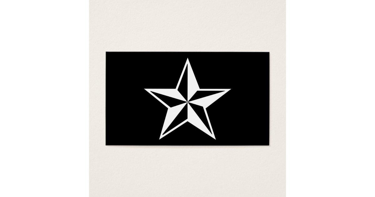 Nautical star business card zazzle reheart Choice Image