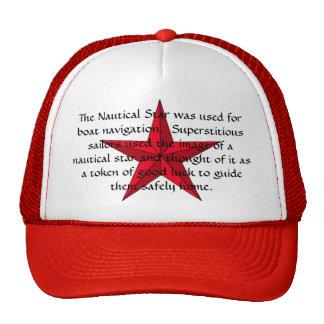 Nautical Star Hat