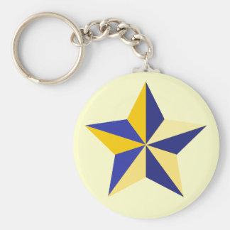 Nautical Star Keychain