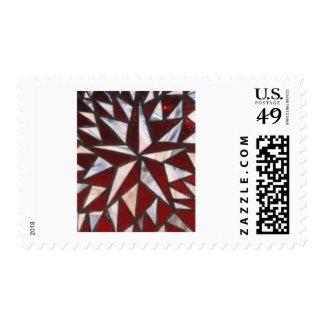 Nautical Star Postage Stamp
