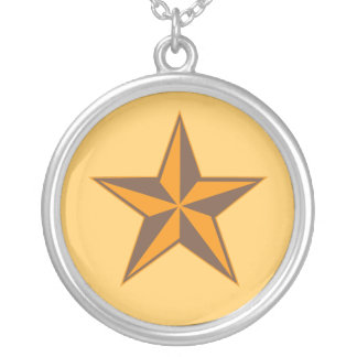 Nautical Star Silver Plated Necklace