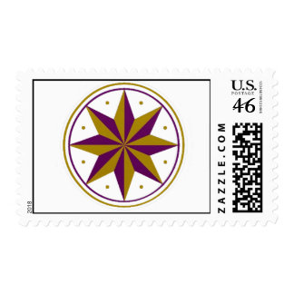 Nautical star stamps