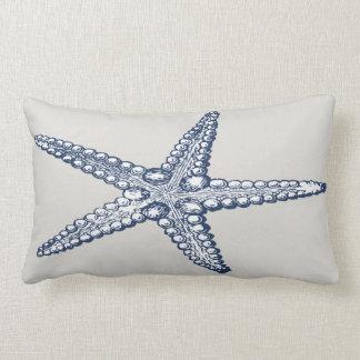 Nautical Starfish Lumbar Pillow