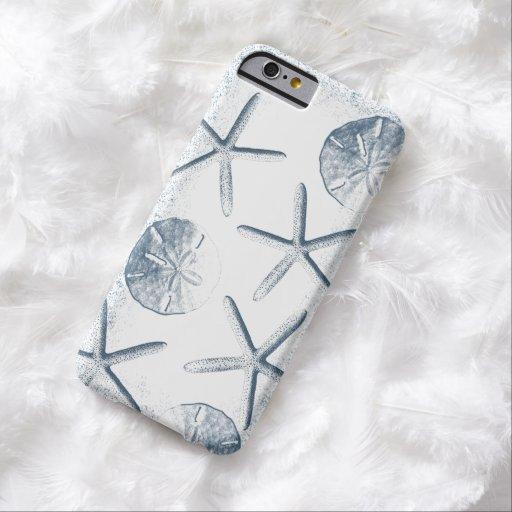 Nautical Starfish & Seashells iPhone 6 case