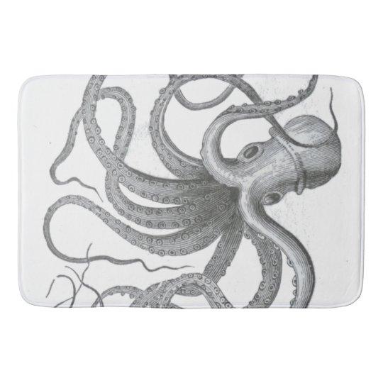 Nautical Steampunk Octopus Vintage Kraken Decor Bathroom