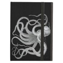 Nautical Steampunk Octopus Vintage Kraken Drawing Case For iPad Air