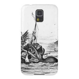 Nautical steampunk octopus vintage kraken drawing galaxy s5 case