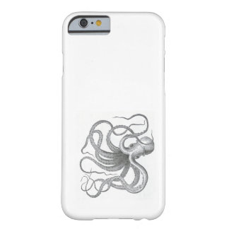 Nautical steampunk octopus Vintage kraken science Barely There iPhone 6 Case