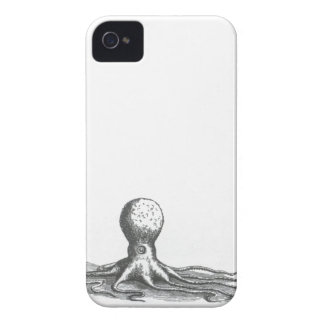 Nautical steampunk vintage octopus book drawing iPhone 4 Case-Mate case