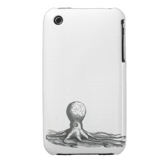 Nautical steampunk vintage octopus kraken drawing iPhone 3 cases