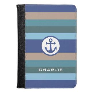 Nautical Stripes custom monogram device cases
