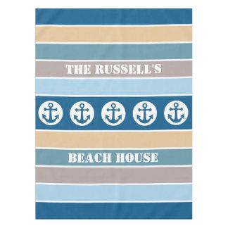 Nautical Stripes custom table cloths