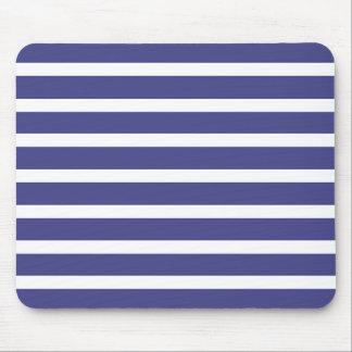 Nautical Stripes Mouse Pad