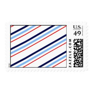 Nautical Stripes Postage