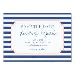Nautical Stripes Save the Date Invitation