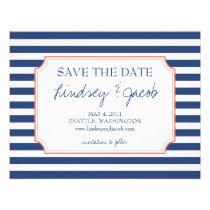 Nautical Stripes Save the Date Invitations