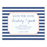 Nautical Stripes Save the Date Invitations