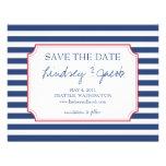 Nautical Stripes Save the Date Invites