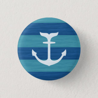 Nautical Stripes With Anchor Buttons