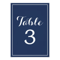 Nautical | Table Numbers