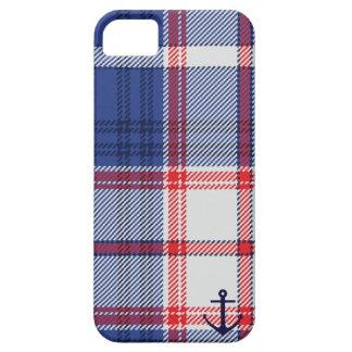 Nautical Tartan iPhone SE/5/5s Case