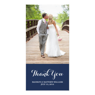 Nautical | Thank You Photo Card