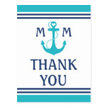 Nautical Thank You Post Card