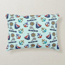 Nautical Theme Accent Pillow