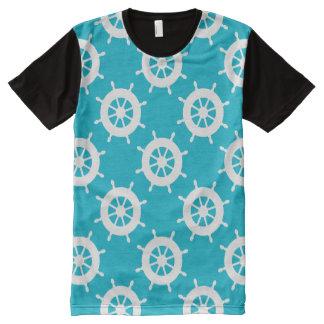 Nautical Theme All-Over Print T-shirt