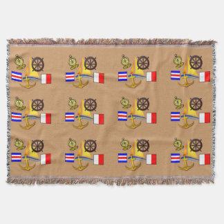 Nautical Theme - blanket