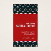 Nautical Theme Business Card