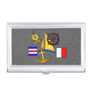 Nautical theme - business card holder