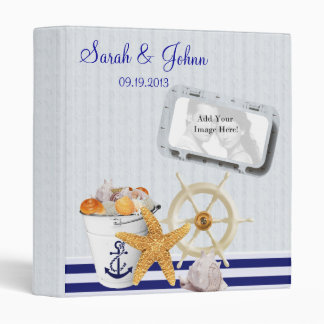 Nautical Theme | Photo Keepsake Album Binder