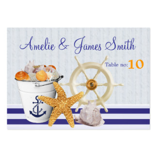 Nautical Theme | Wedding Place Cards Business Cards