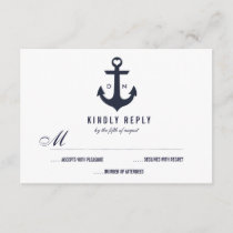 Nautical Theme Wedding RSVP   Wedding